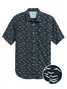 CAMISA HOMBRE SLIM FIT SEAGULL