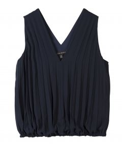 BLUSA PLEATED BANDED
