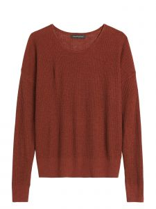 SWEATER MUJER LINO RIBBED ROLL